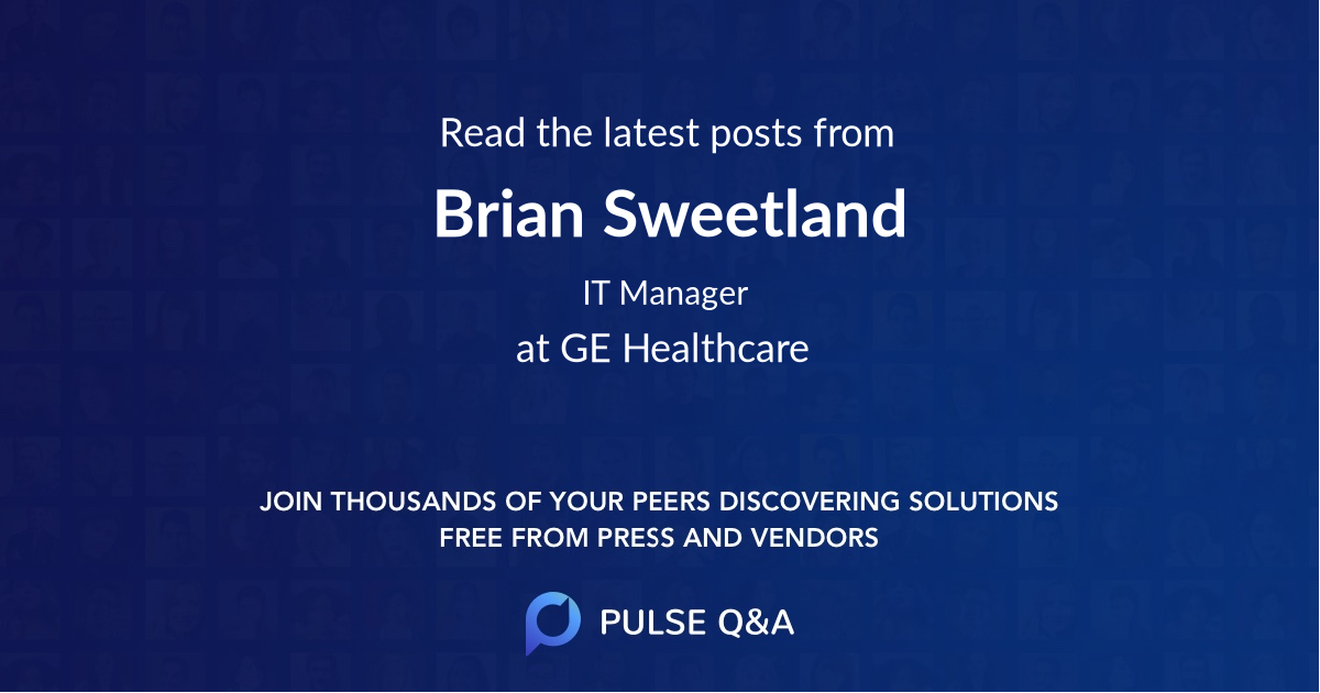Brian Sweetland