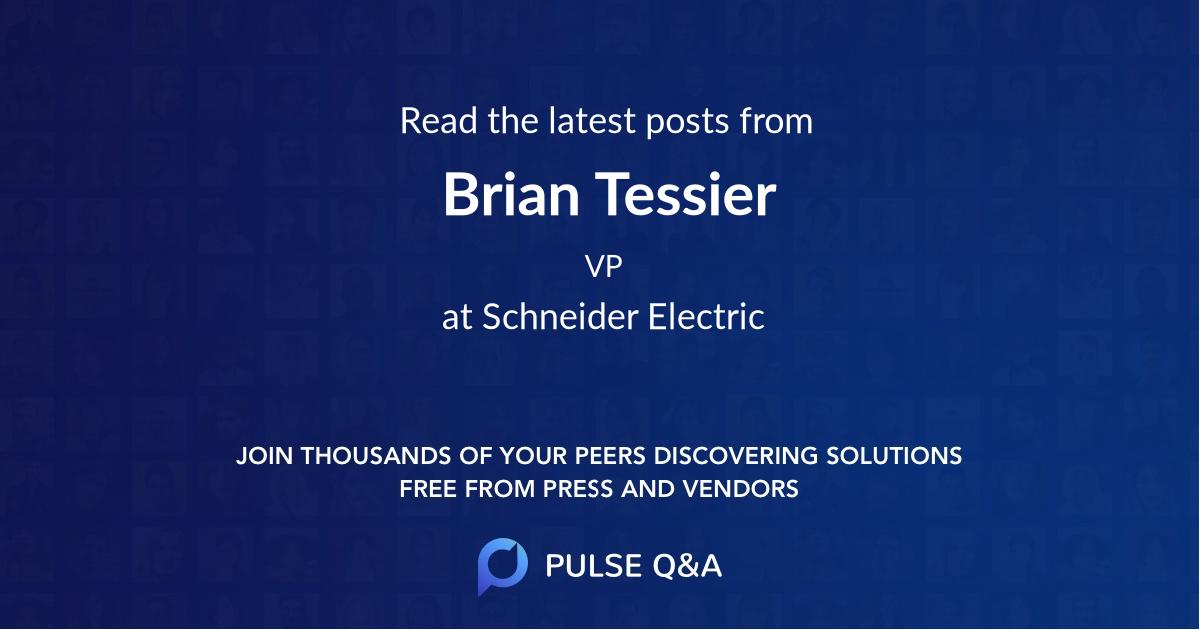 Brian Tessier