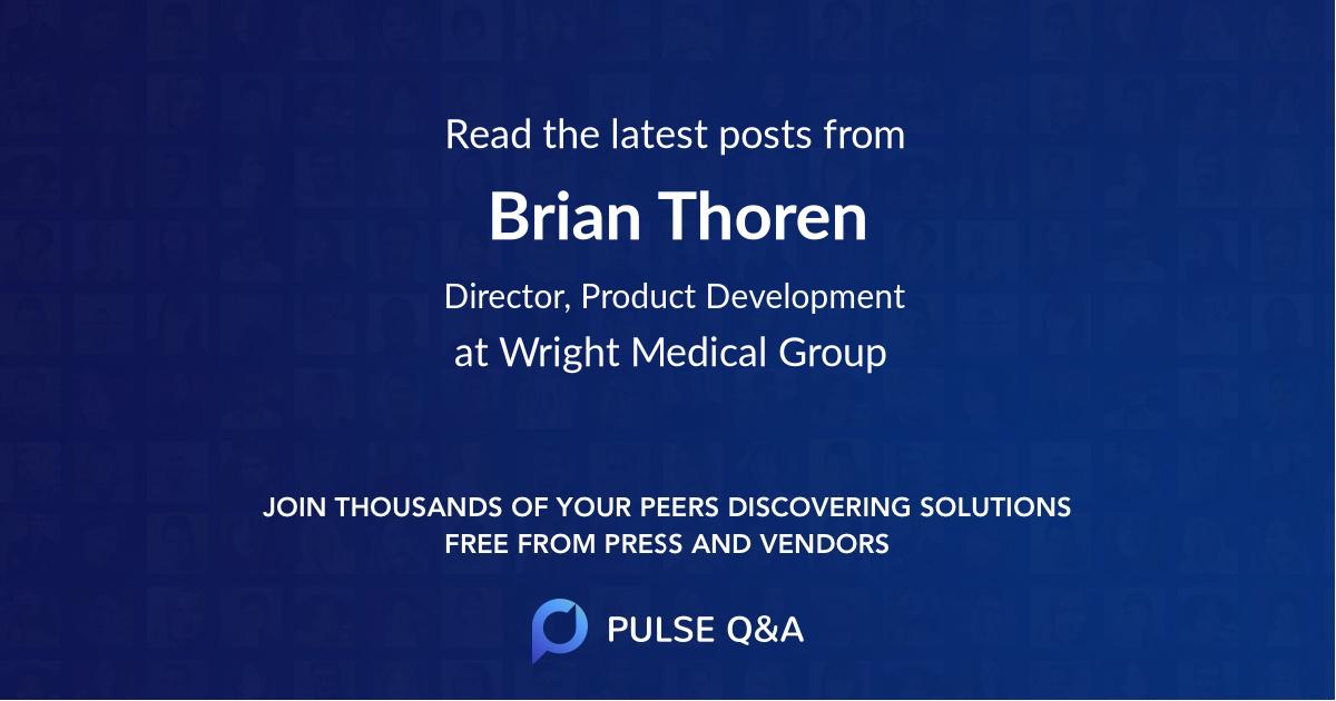 Brian Thoren