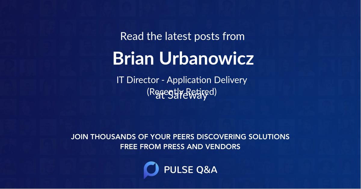Brian Urbanowicz