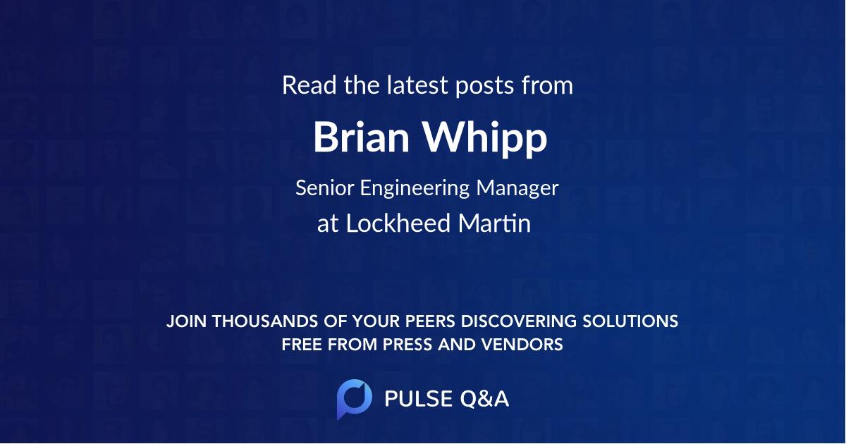 Brian Whipp