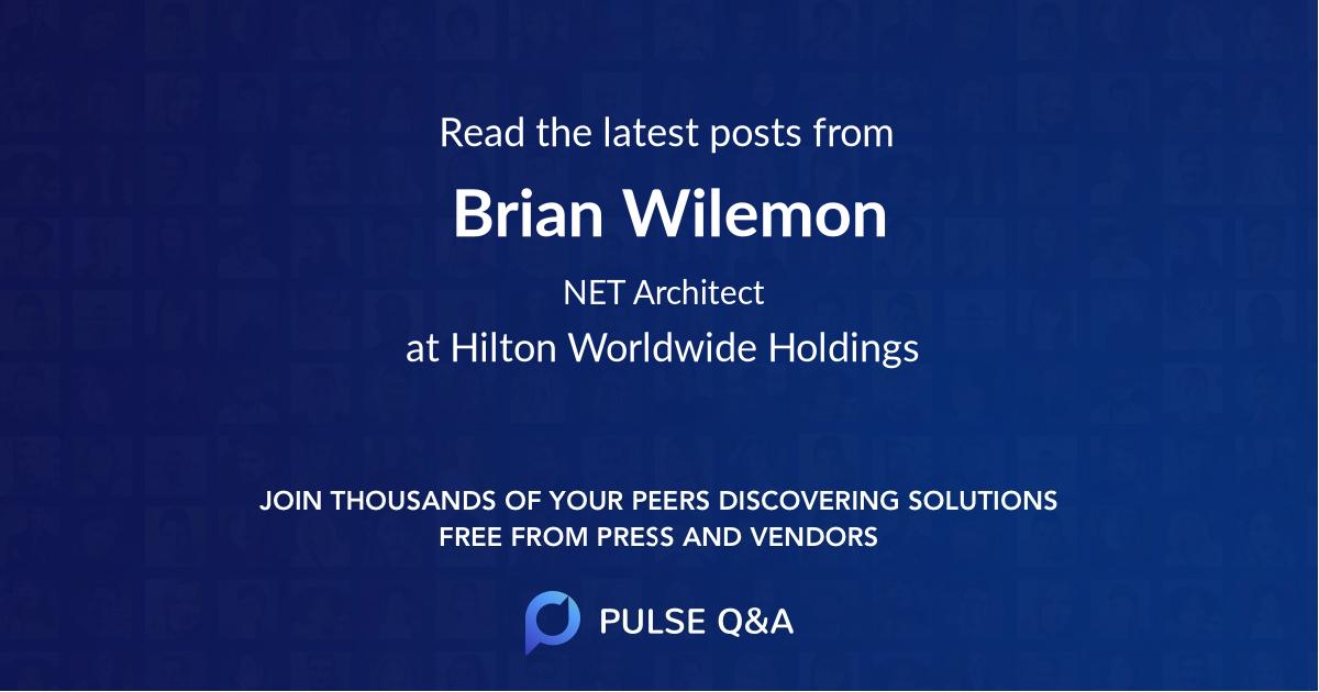 Brian Wilemon