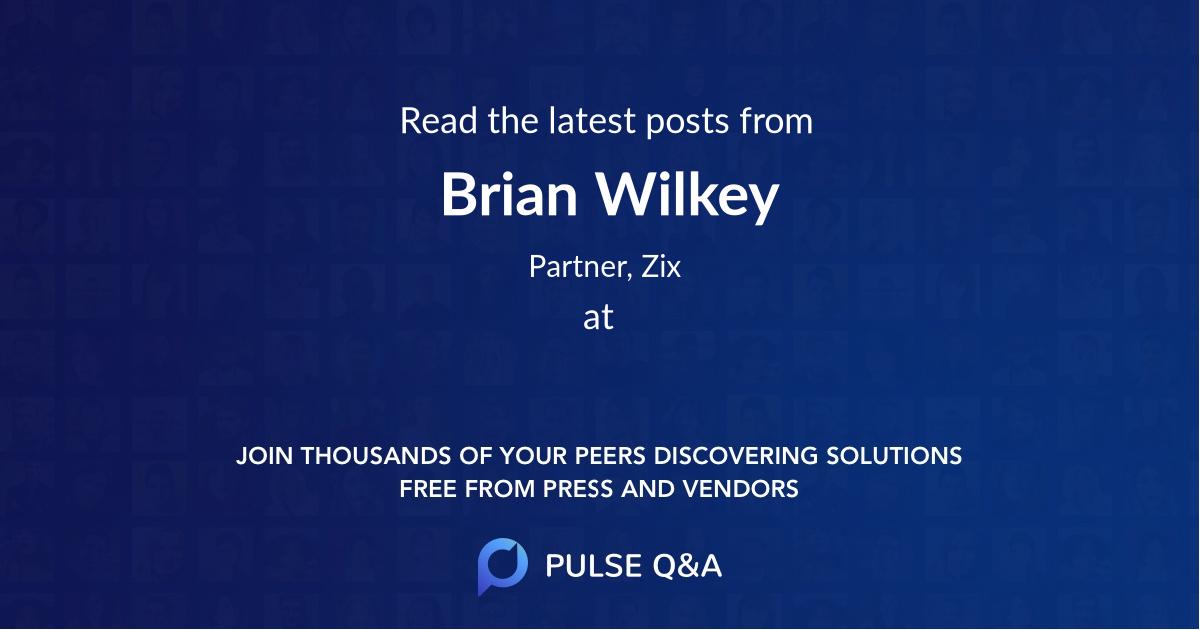 Brian Wilkey