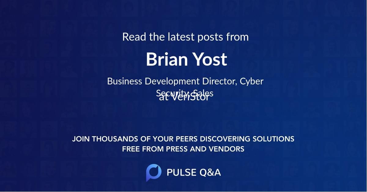 Brian Yost