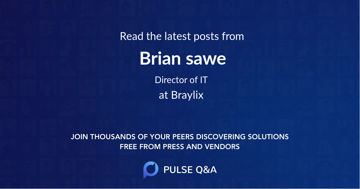 Brian sawe