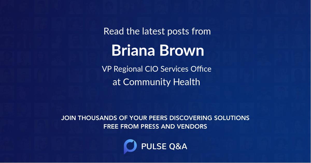 Briana Brown