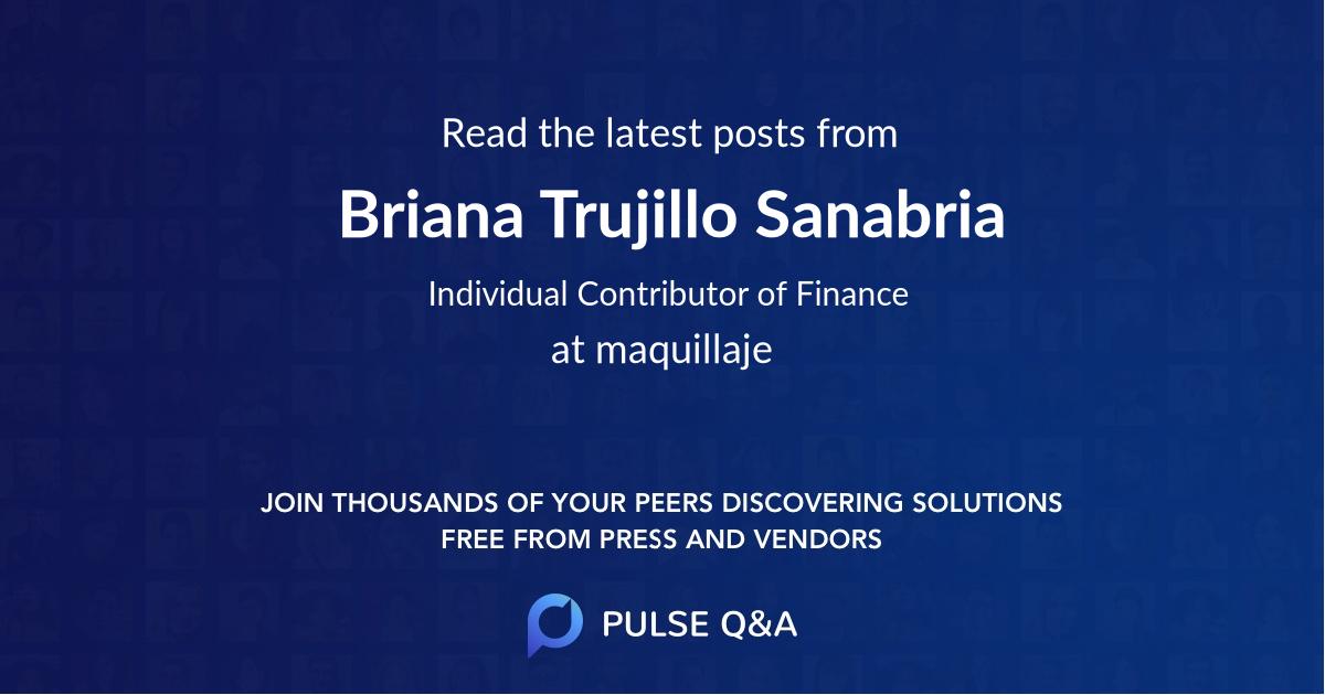 Briana Trujillo Sanabria