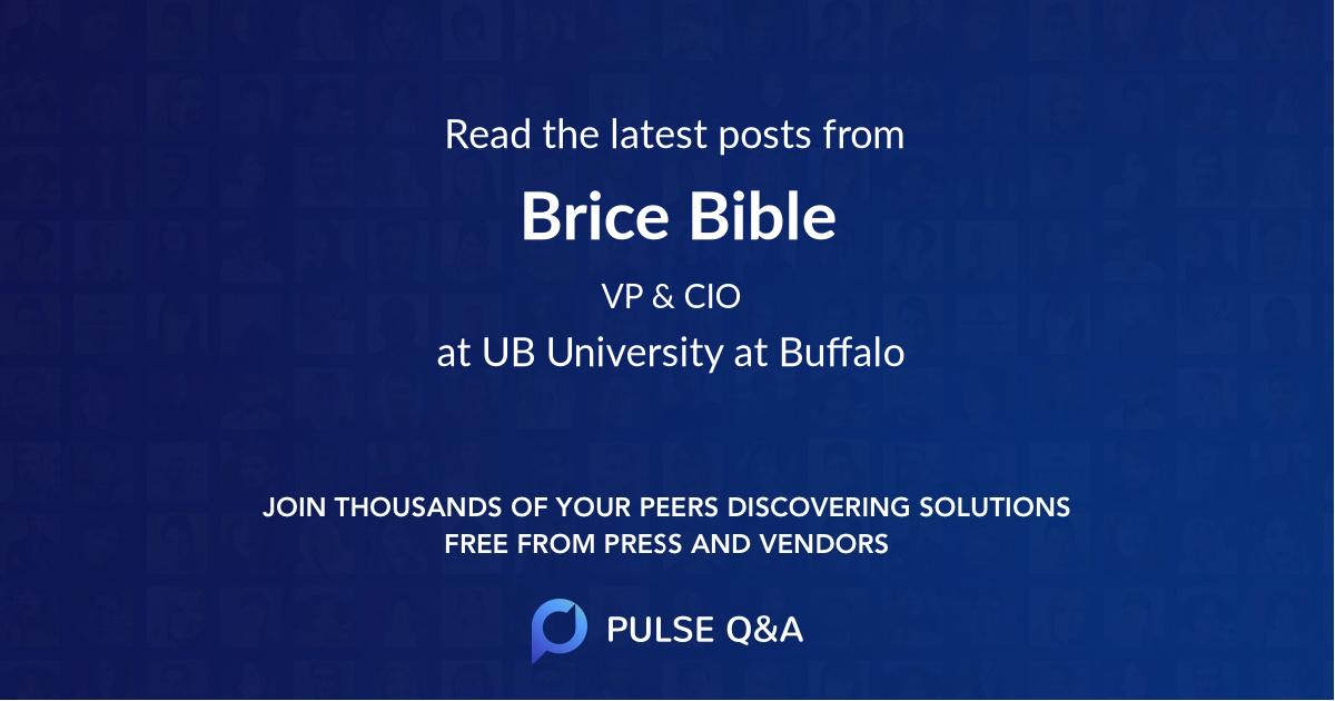Brice Bible