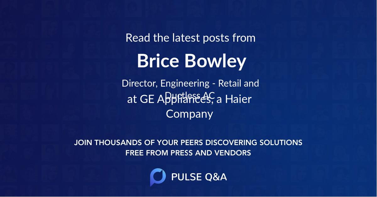 Brice Bowley