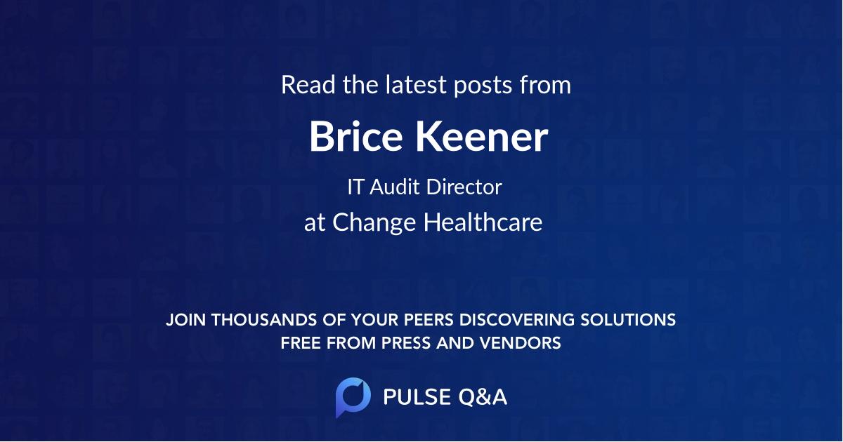 Brice Keener