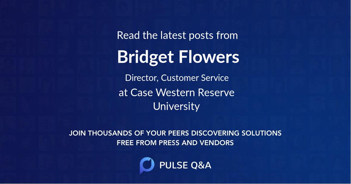 Bridget Flowers