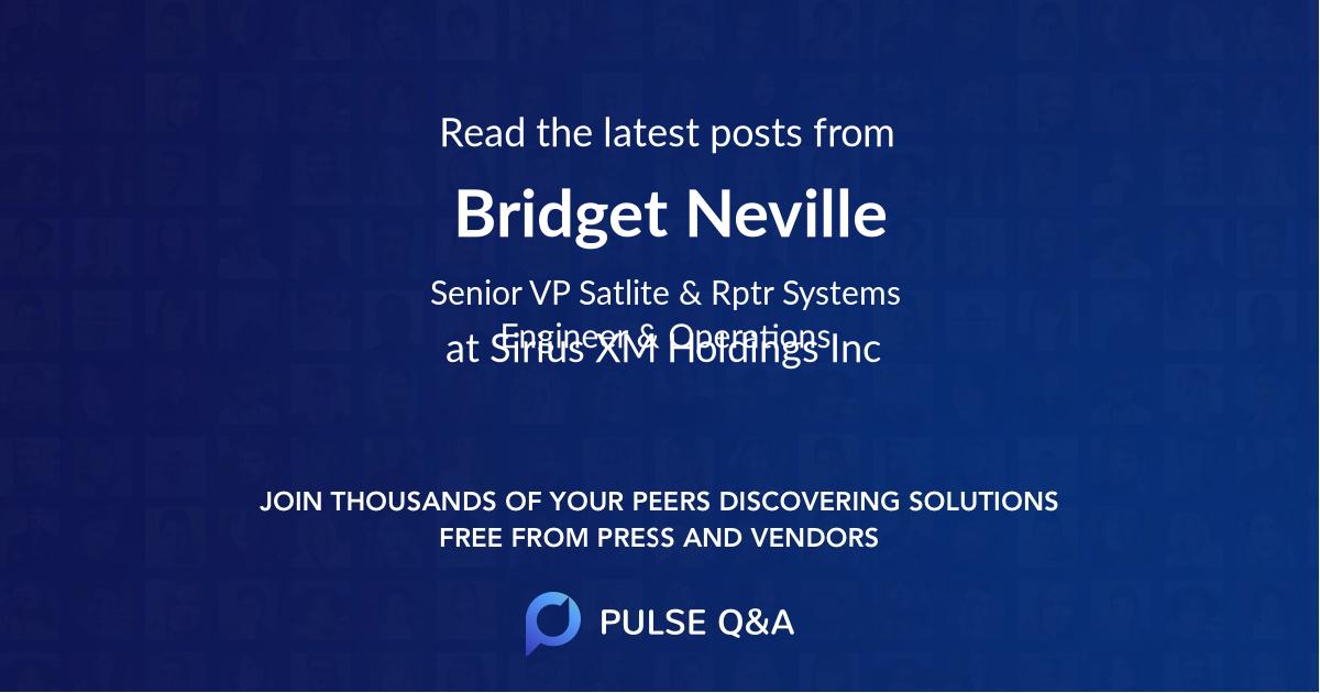 Bridget Neville
