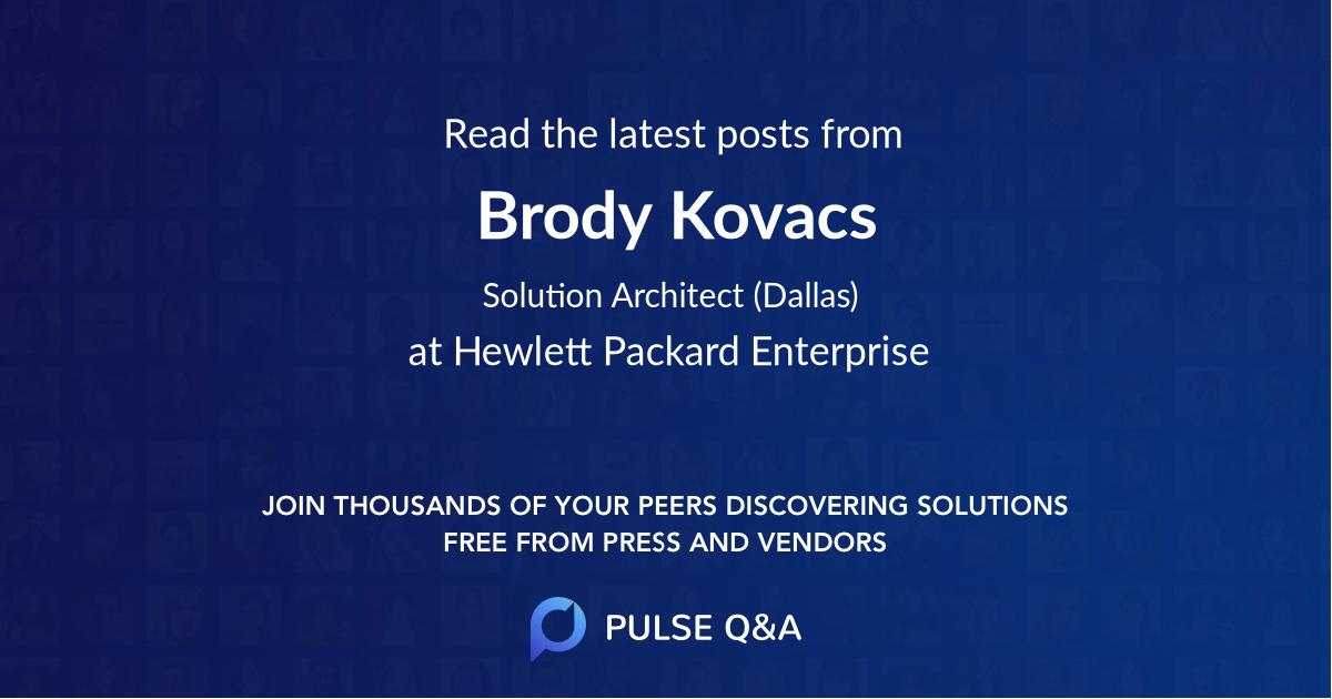 Brody Kovacs