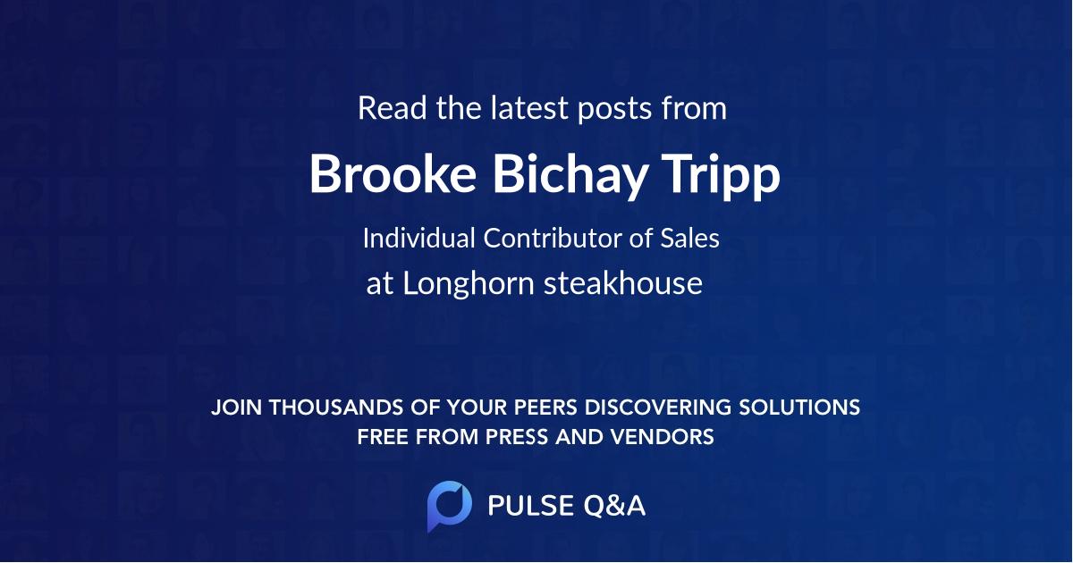 Brooke Bichay Tripp