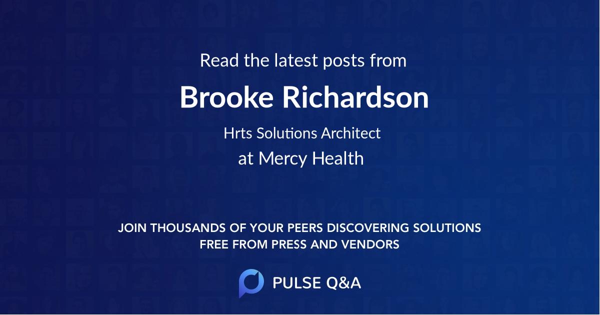 Brooke Richardson