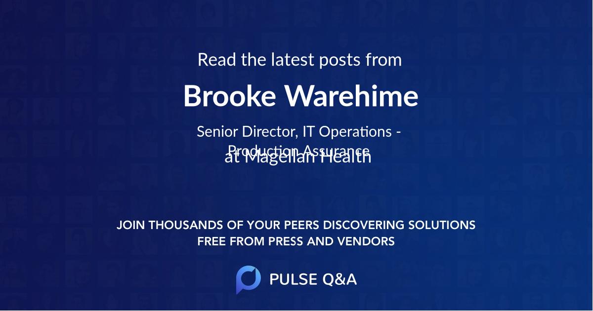 Brooke Warehime