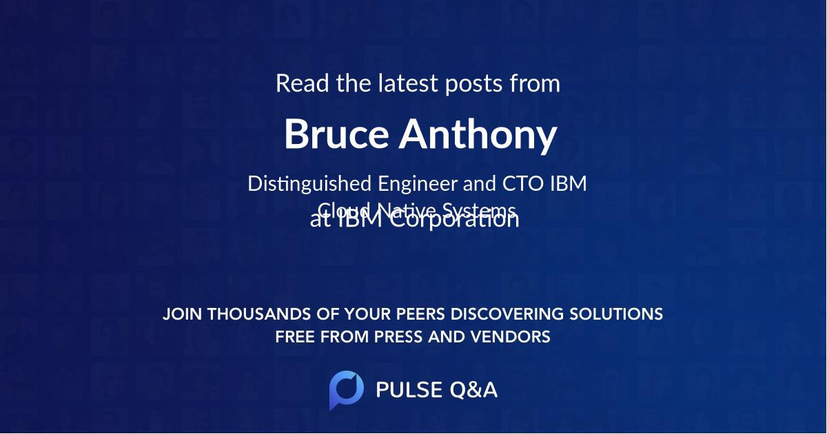 Bruce Anthony