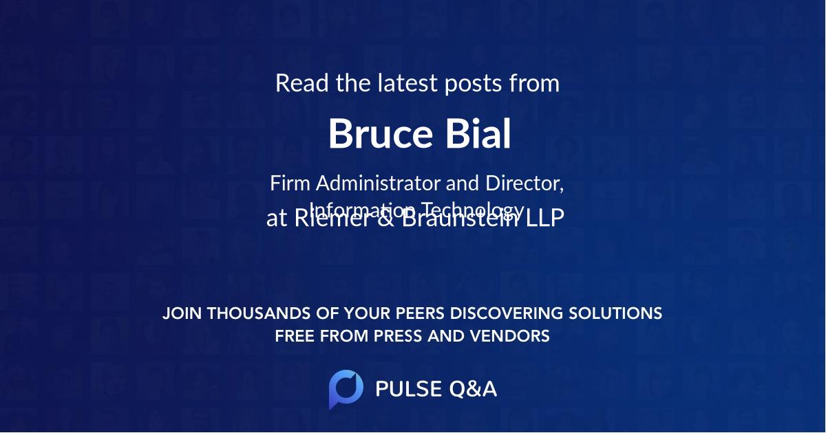 Bruce Bial