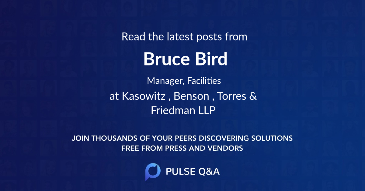Bruce Bird