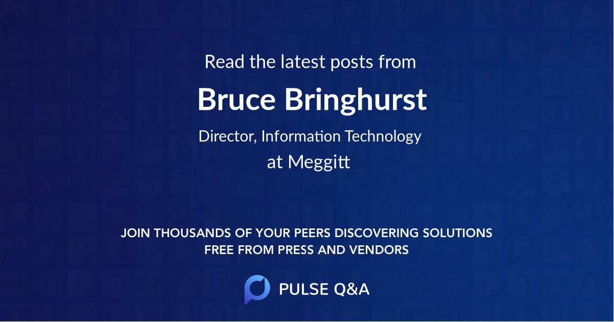 Bruce Bringhurst