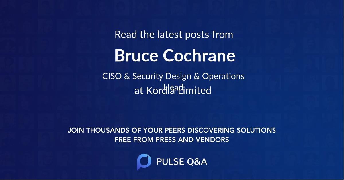 Bruce Cochrane