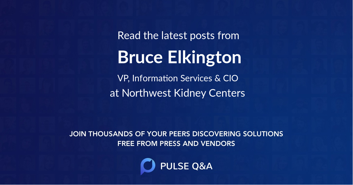Bruce Elkington