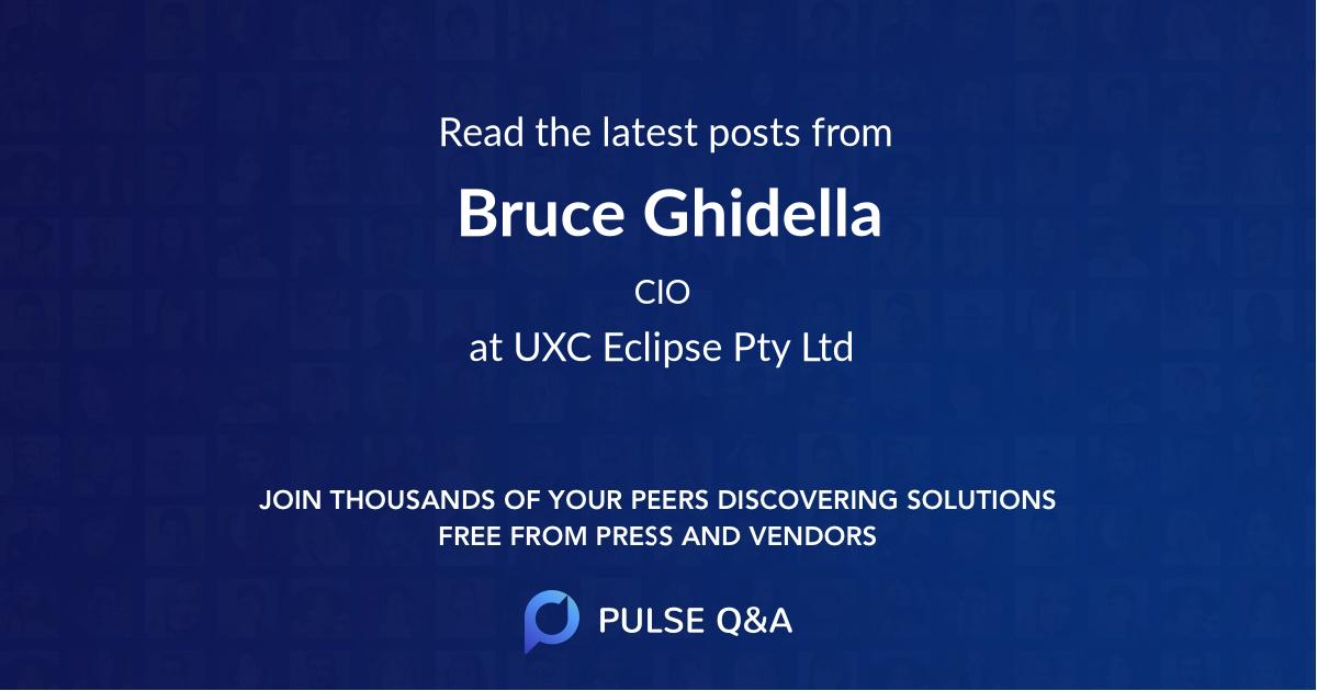 Bruce Ghidella