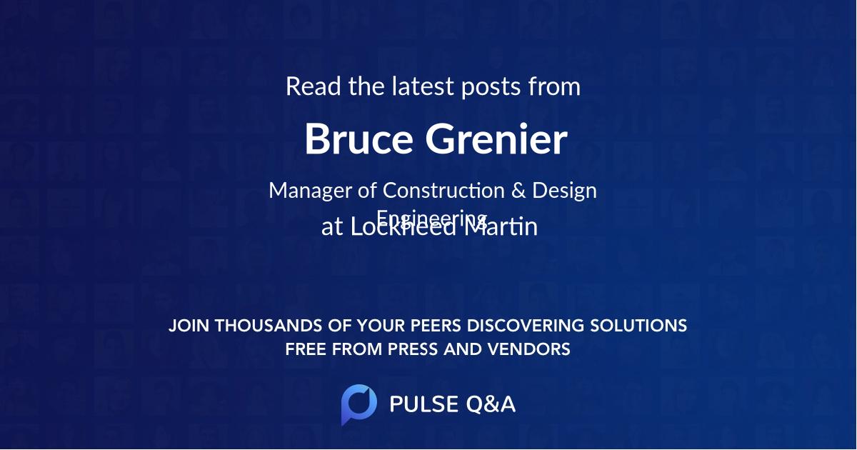 Bruce Grenier