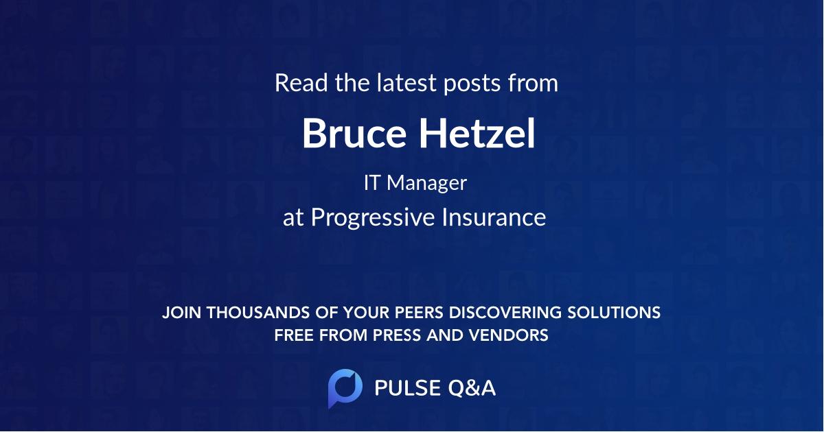 Bruce Hetzel