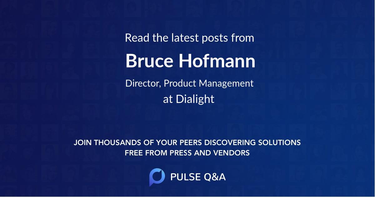 Bruce Hofmann