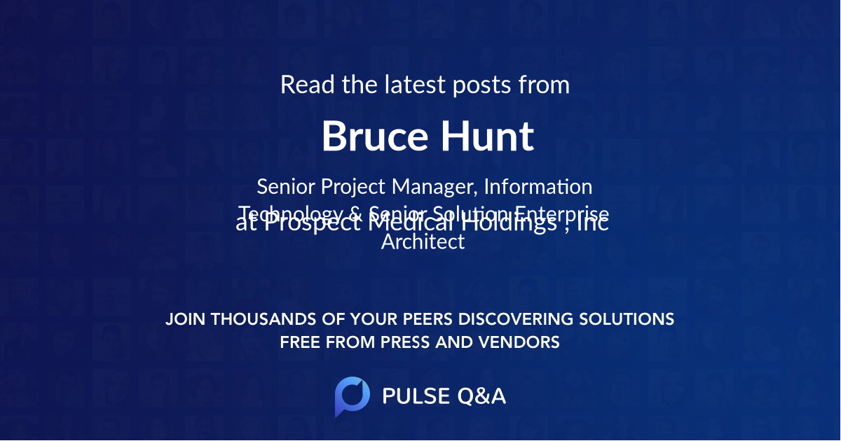 Bruce Hunt