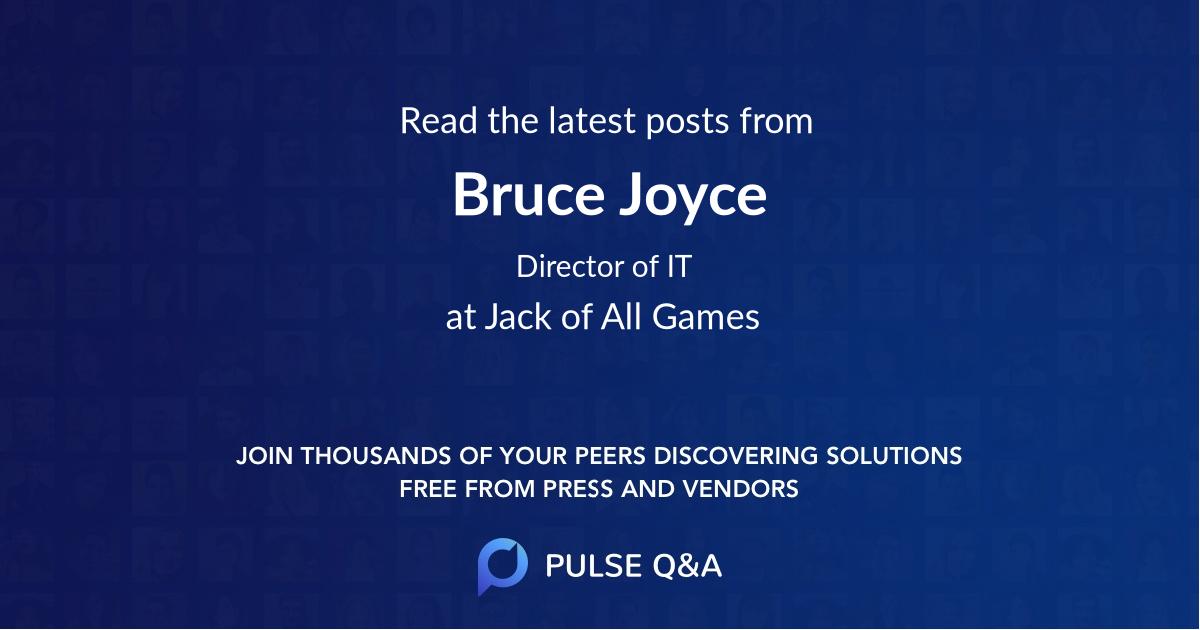 Bruce Joyce