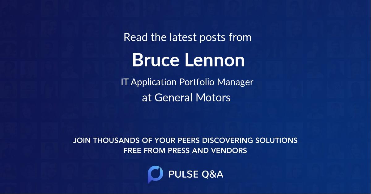 Bruce Lennon