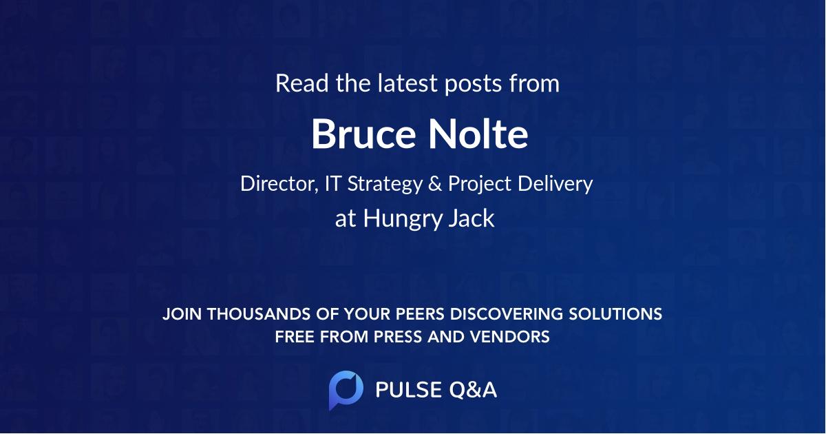 Bruce Nolte
