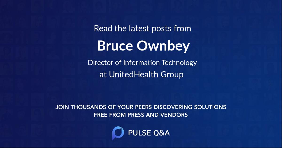 Bruce Ownbey