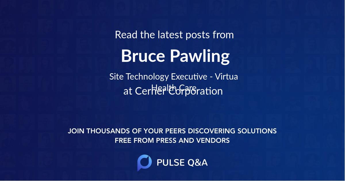Bruce Pawling