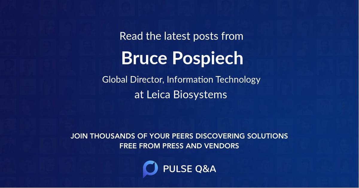 Bruce Pospiech