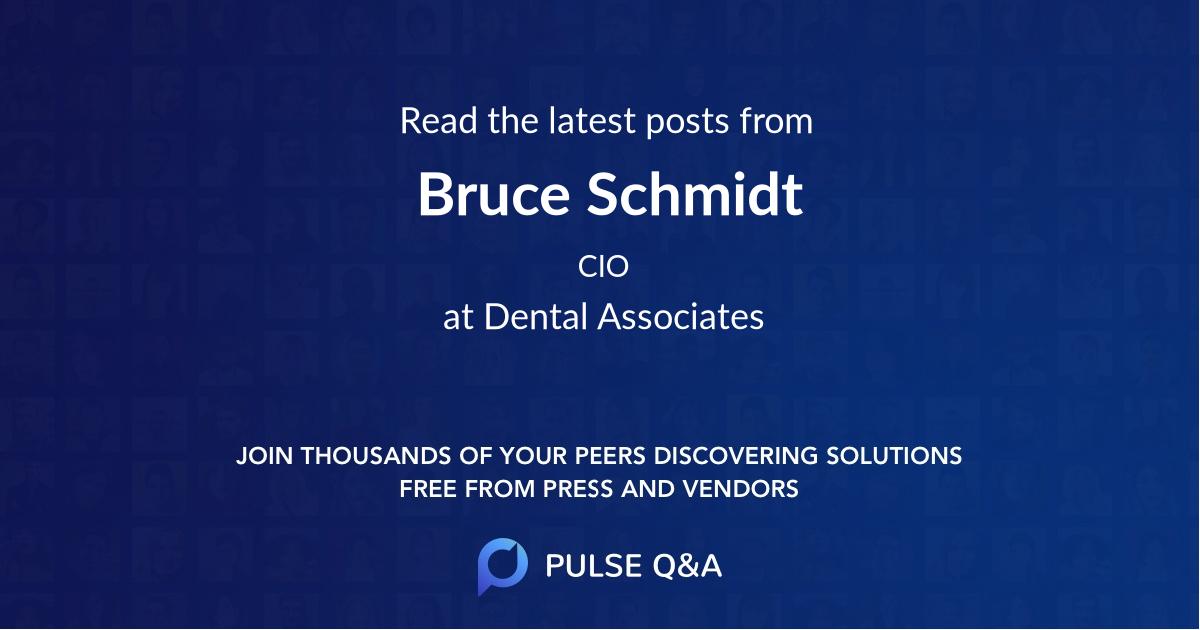 Bruce Schmidt