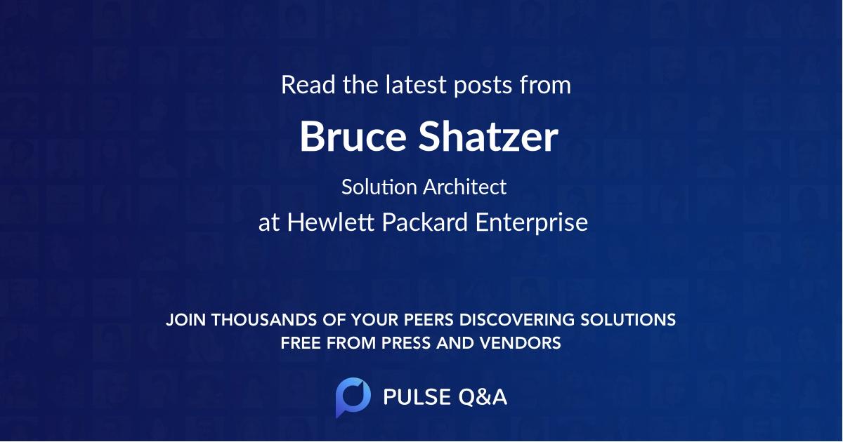 Bruce Shatzer