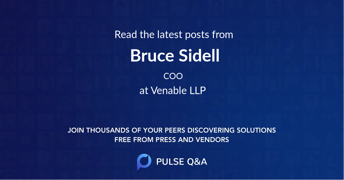 Bruce Sidell