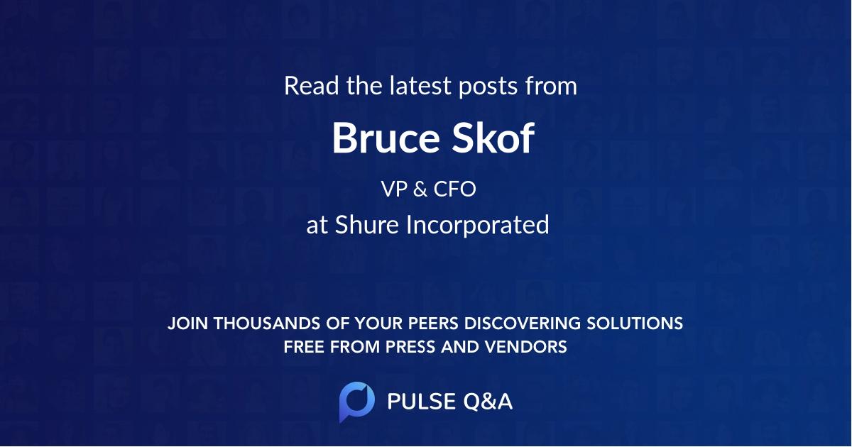 Bruce Skof