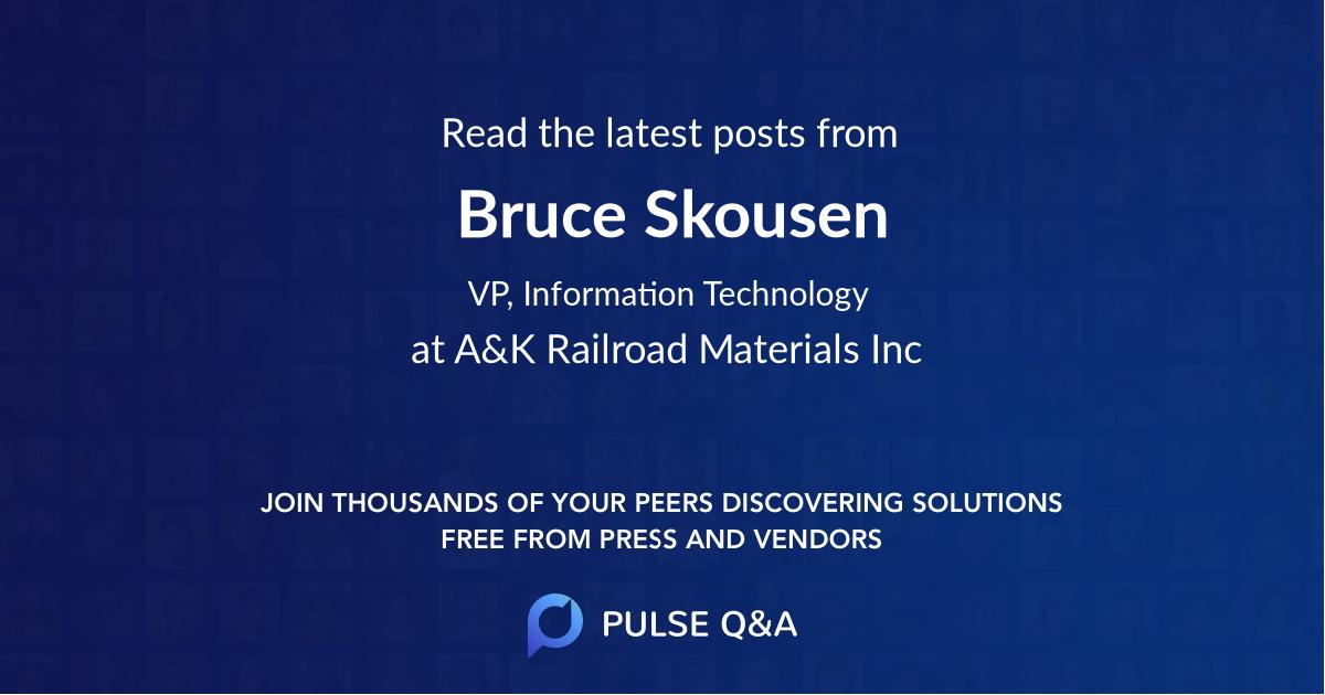Bruce Skousen