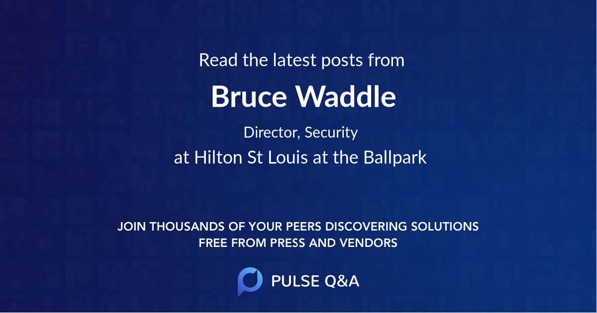 Bruce Waddle