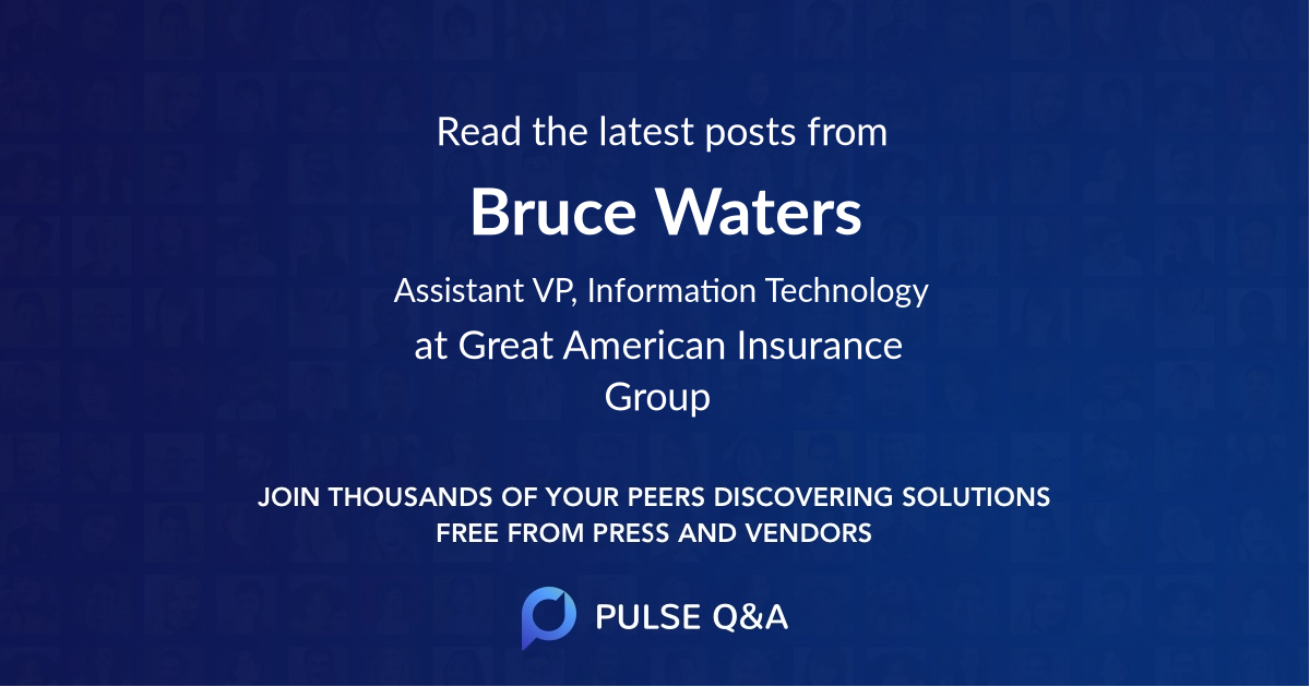 Bruce Waters