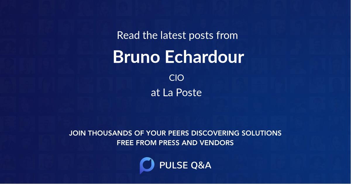Bruno Echardour