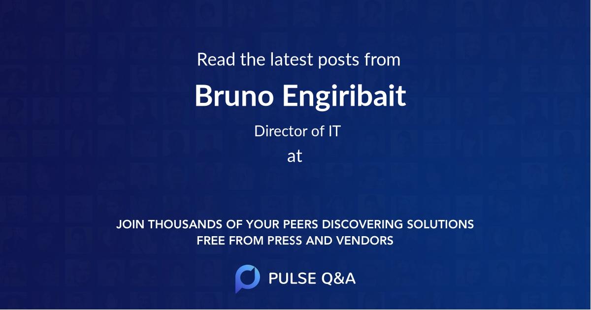 Bruno Engiribait