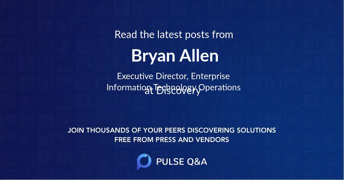 Bryan Allen