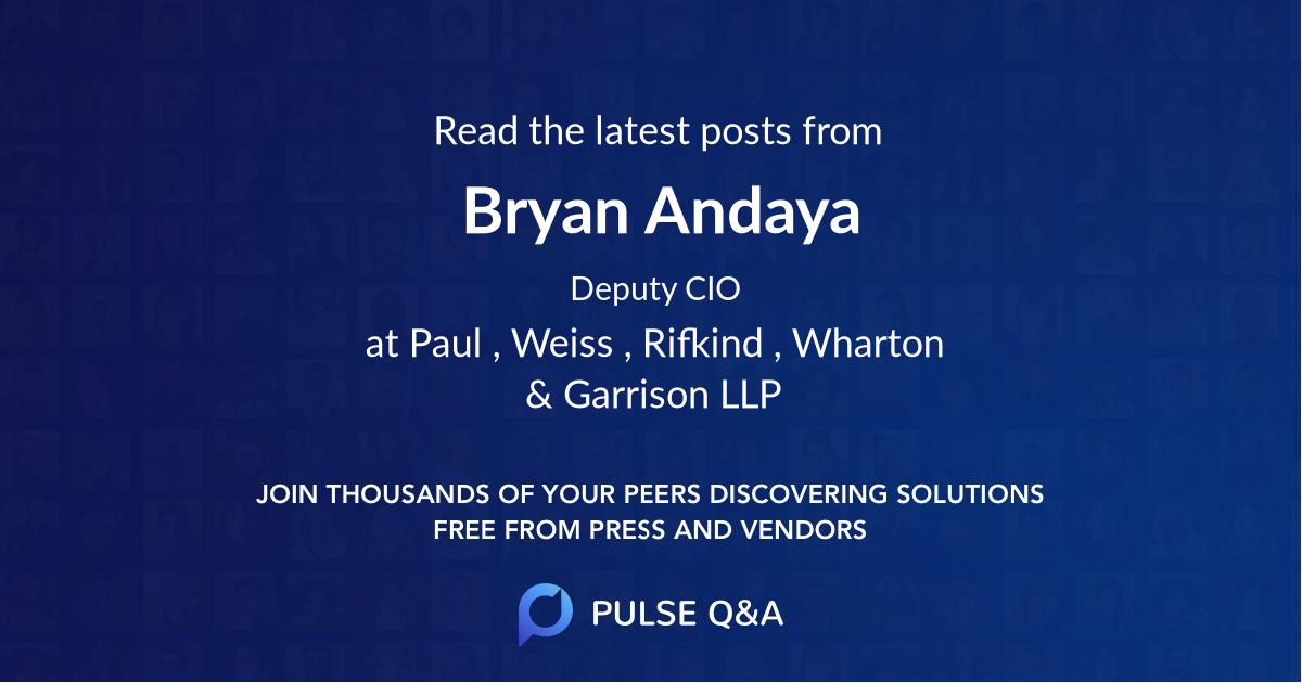 Bryan Andaya