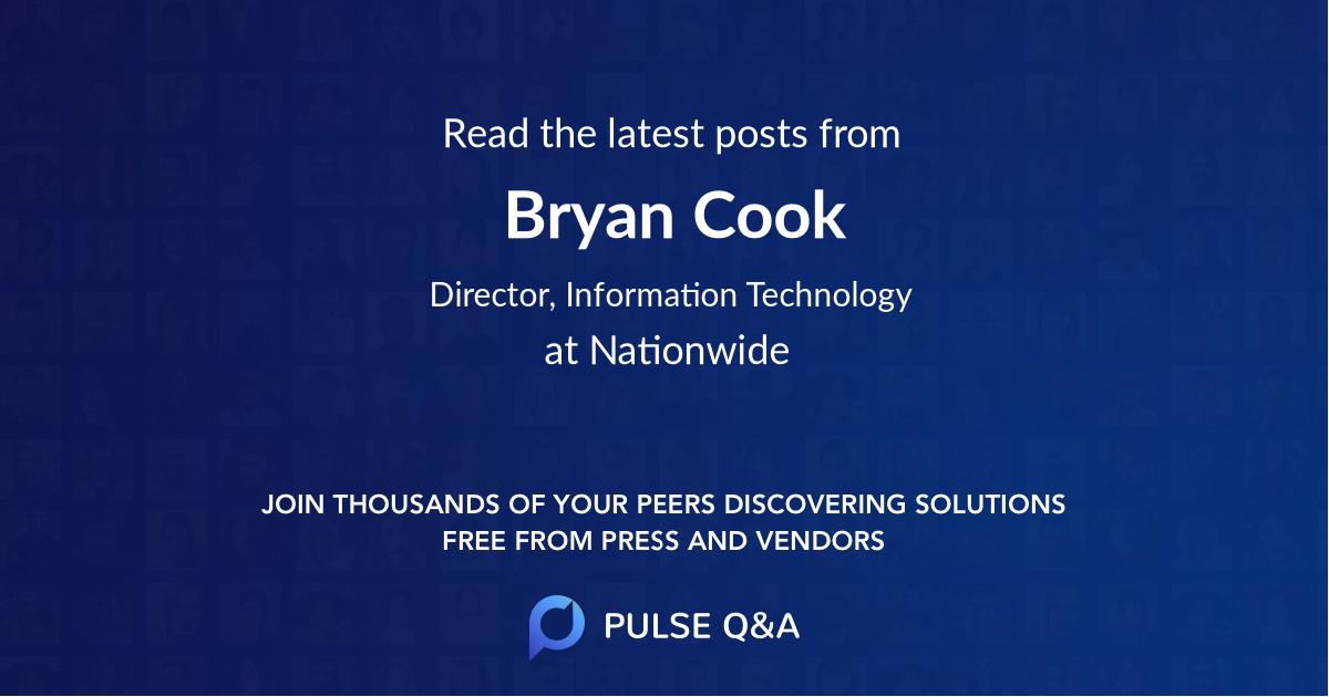 Bryan Cook