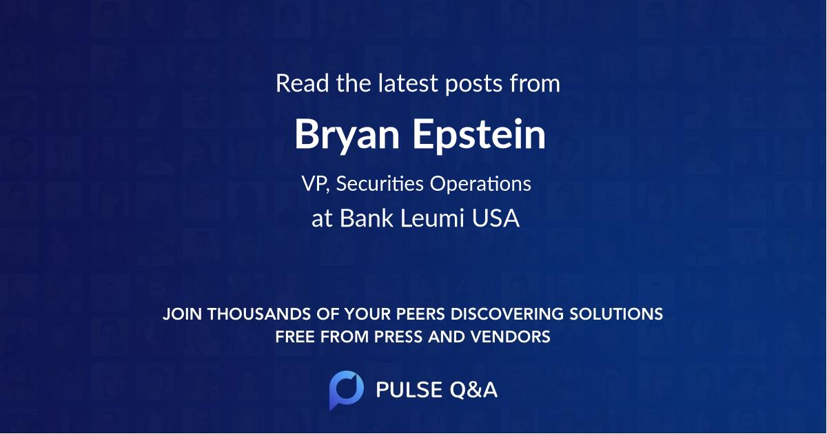 Bryan Epstein